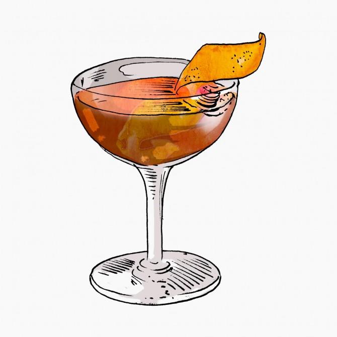 Martinez cocktail
